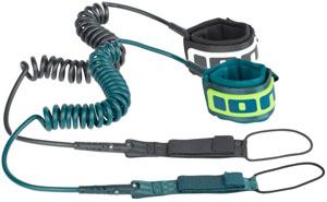 Ion - SUP Core Leash coiled