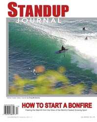 Standup Journal - 2011 Winter Issue<br>How to start a bonfire - Photo Annual