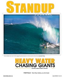 Standup Journal - 2013-14 Winter Issue<br>Heavy Water Chasing Giants