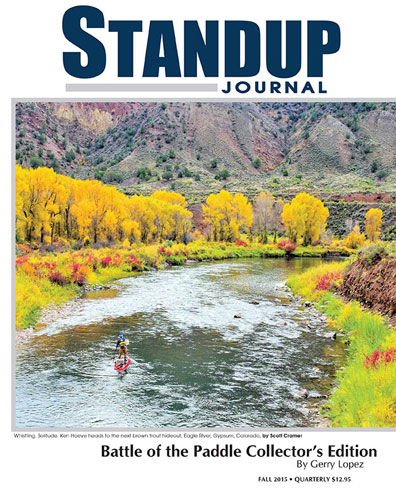 Standup Journal - 2015 Fall Issue<br>Battle Of The Paddle Collector´s Edition