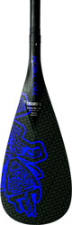Starboard - Enduro Tiki Tech M Blue<br> Hybrid Carbon 2pcs Adjustable